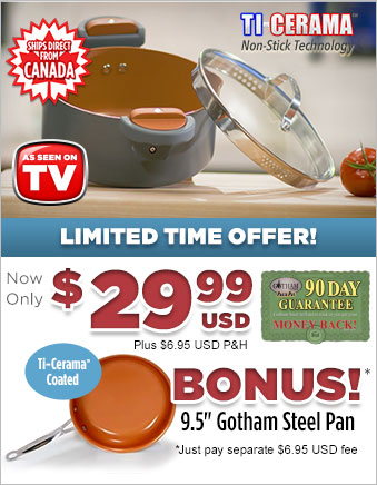 Order Gotham™ Steel Pasta Pot Now!